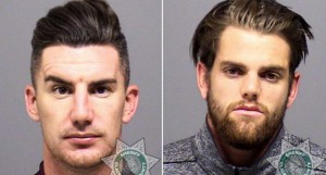 Ridgewell and Gleeson mugshots from Clackamas County Sheriff's Office